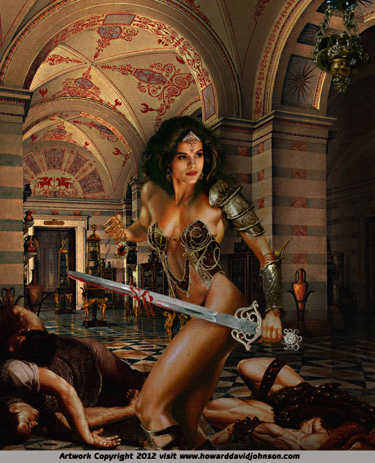 fantasy art hot girls atlantis