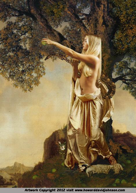 greek myth the golden apples fine art paintings of mythFreyja Rune