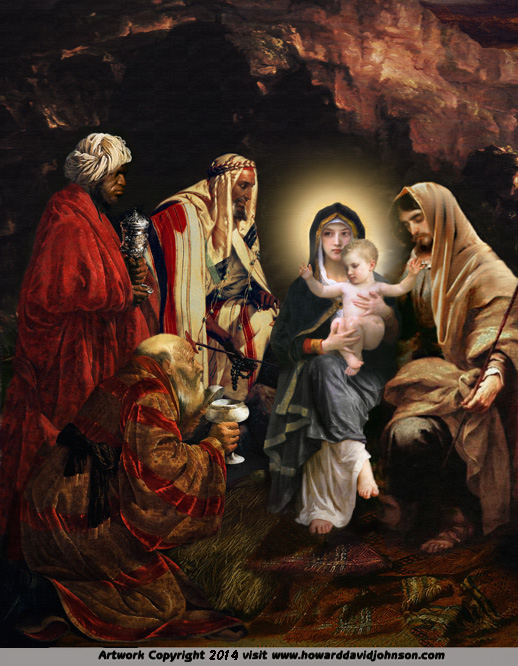 The Adoration of the Magi Mother Mary
