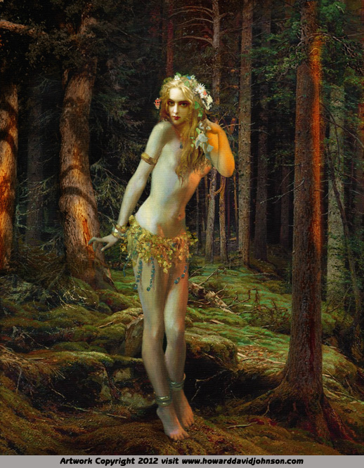 Faerie fary painting fantasy art